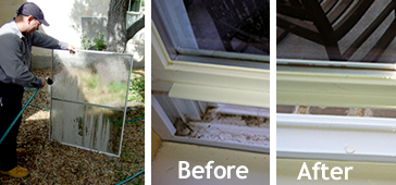 Sparkling clean residential window cleaning window for Window washing austin